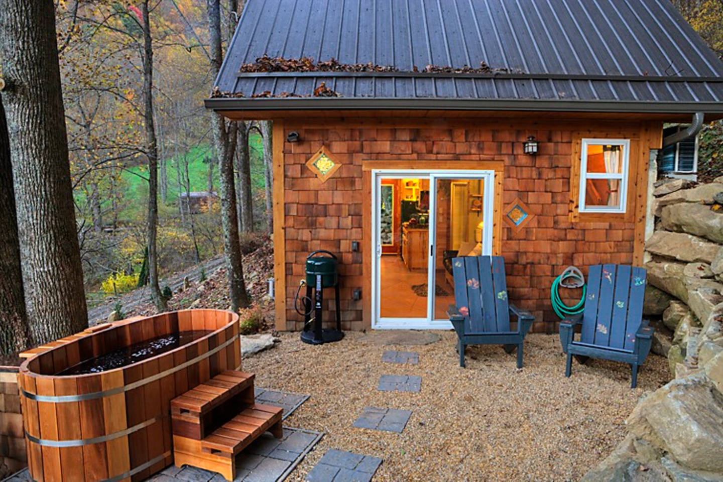 Pool Shed Plans Tiny Mountain Cottage In Nc