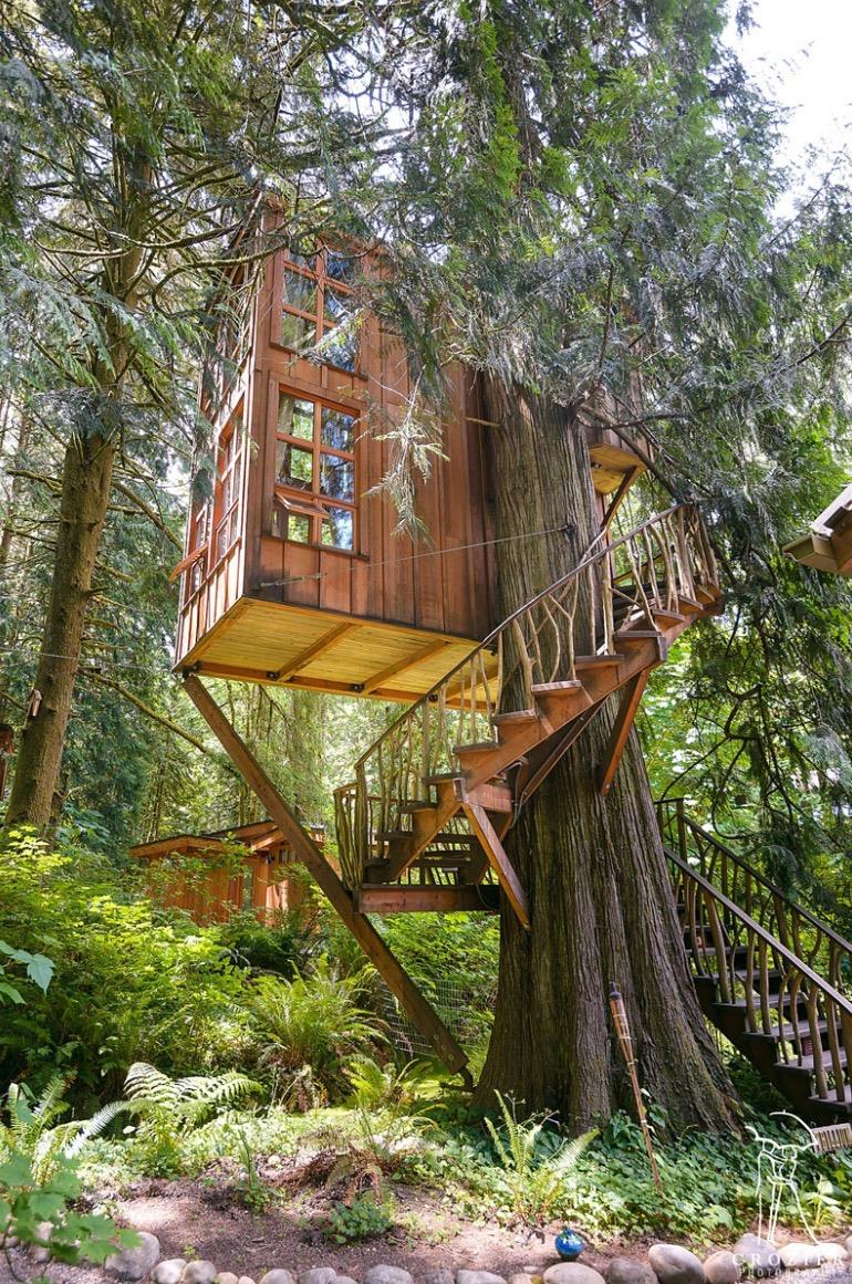 trillium treehouse at treehouse point