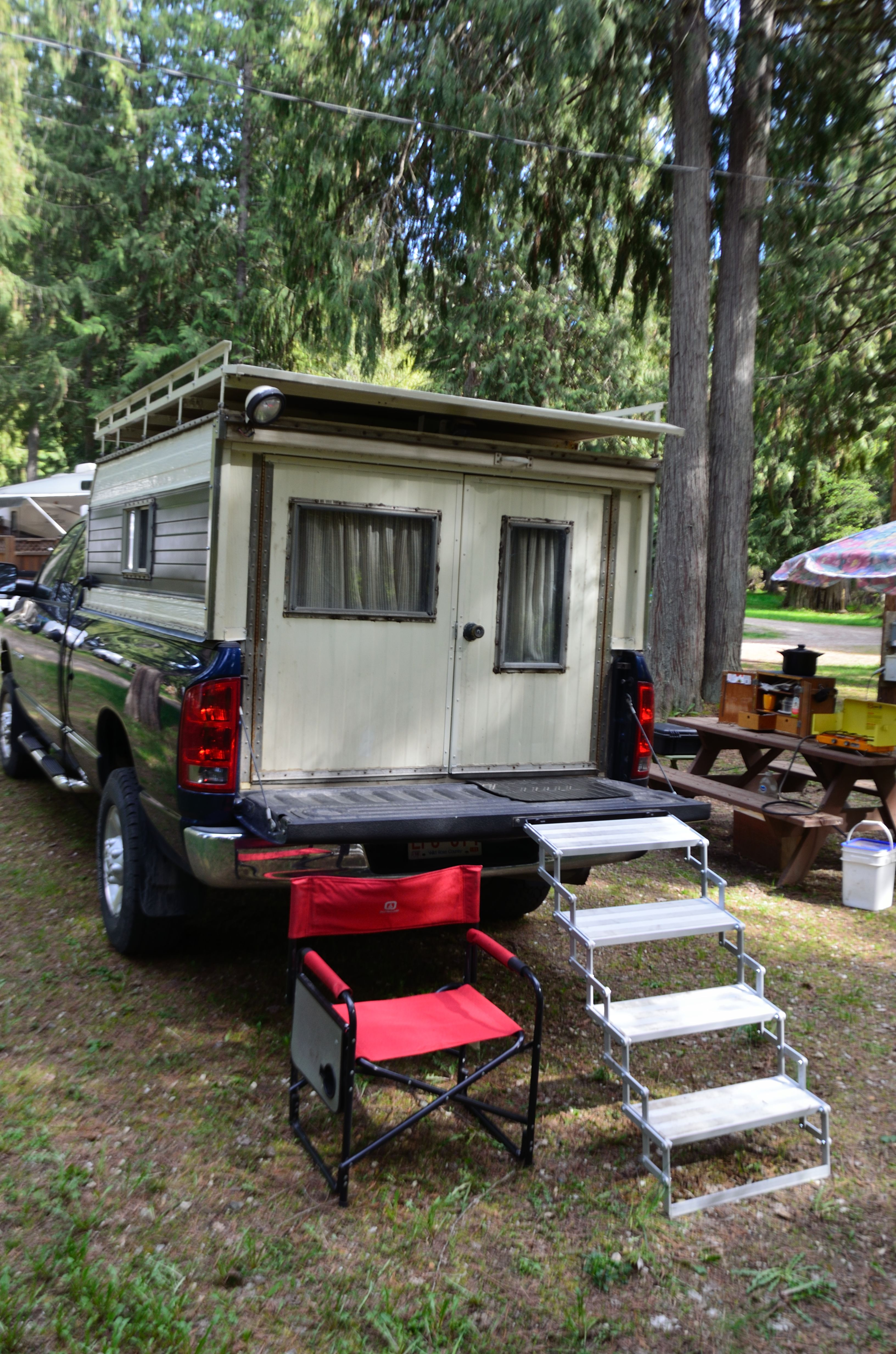 Diy Dodge Diesel Truck Camper One Man S Story