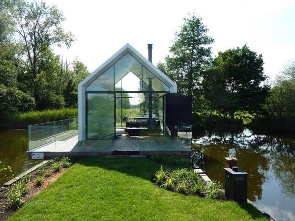 Unique recreational lake house cabin for Unique cabins