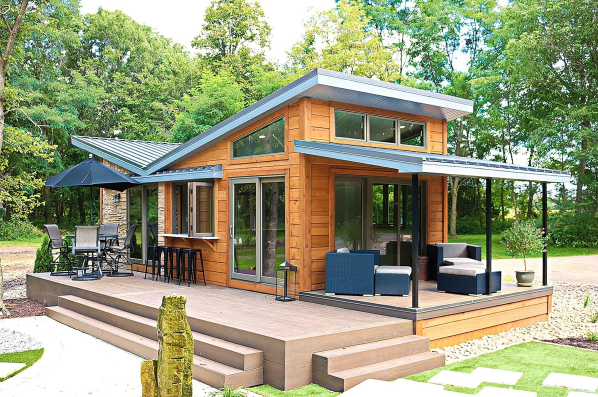 Tiny Home Designs: The Valley Forge Park Model Tiny House By Utopian Villas