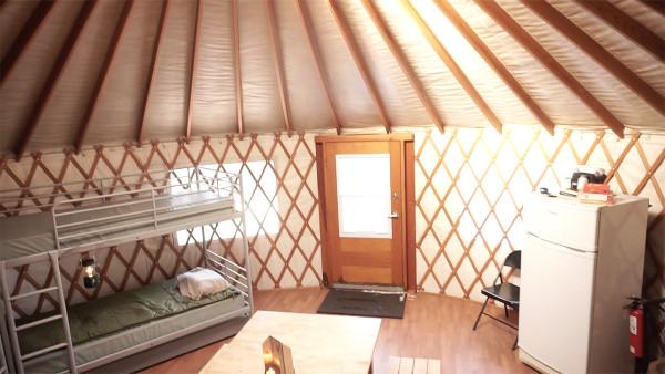 Yurt Interior - Exploring Alternatives