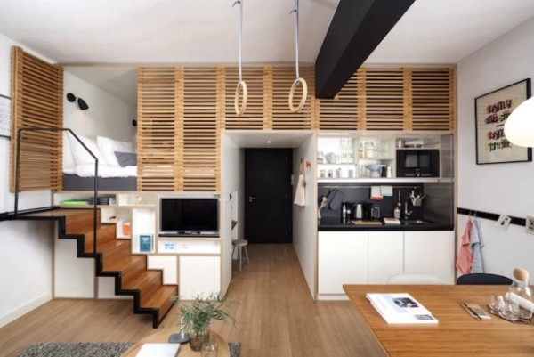 Zoku Loft: Hybrid Micro Home for Work and Living