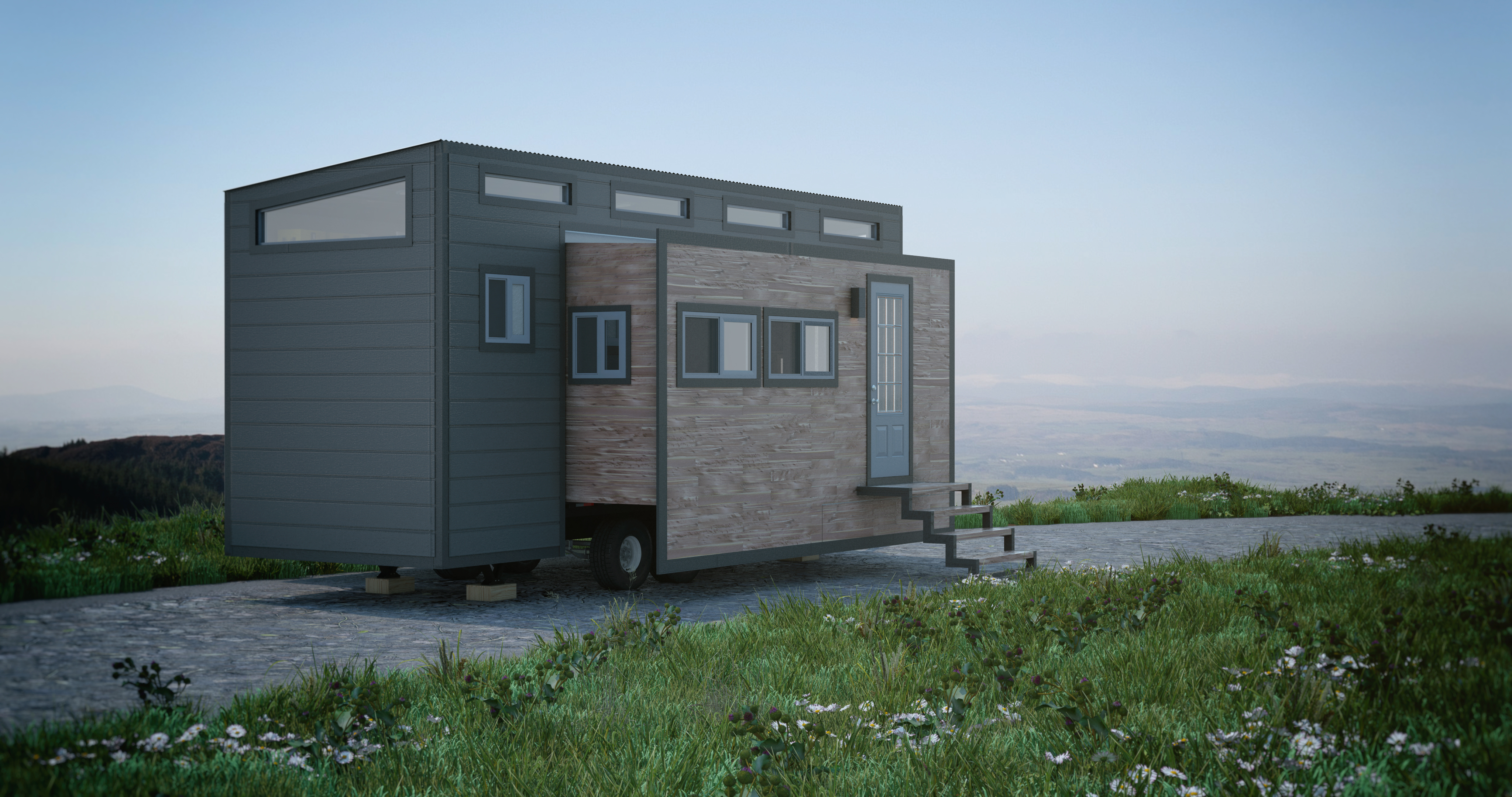 Aurora Tiny House By Zero Squared With Bump Outs