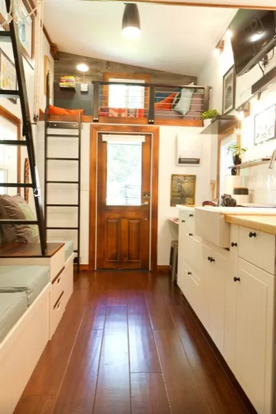 144 Sq Ft Tiny House On Guemes Island Wa