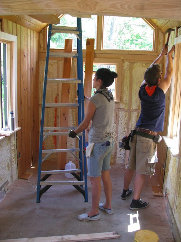 Aldo Lavaggi's Tiny House Construction Project and Tips