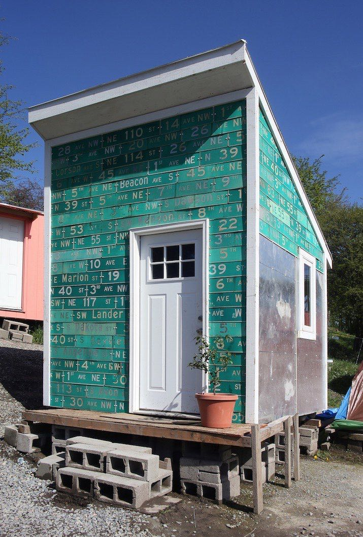Teens developing eco village for seattle 39 s homeless for House pictures website