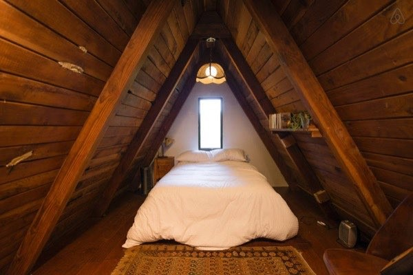 Cozy A Frame Cabin Posted From Tiny House Talk A Cottage