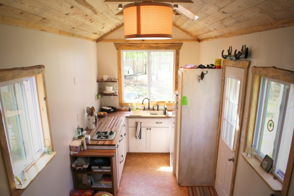 andrew odom tiny house 006 600x399   Andrews Family Tiny Home on Wheels: Rooms and Spaces and Tiny Places