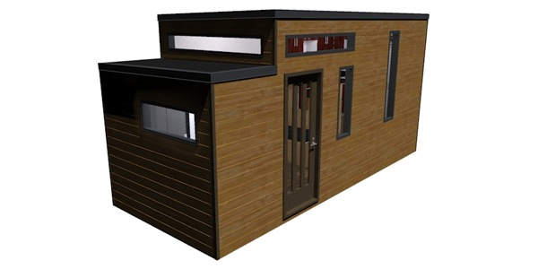 athru tiny house design 1   Athru Tiny House Plans from Humble Homes