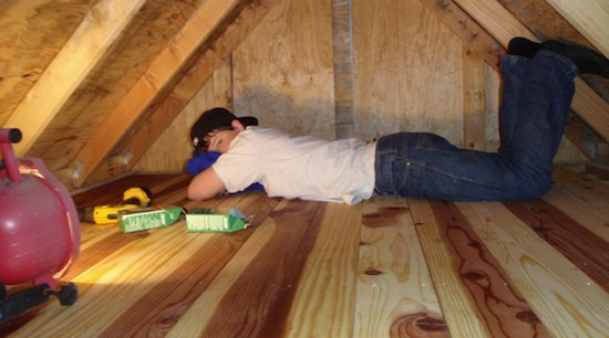 austin hay tiny house builder 02   Update on Austin Hay, the 16 Year Old Tiny House Builder