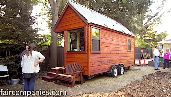 Austin Hay Completes his own Mortgage-free Tiny House at Age 17