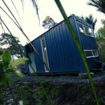 Woman's 107 Sq. Ft. Off Grid Shipping Container Home