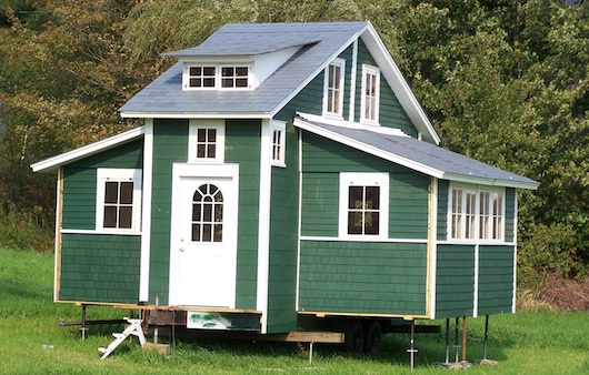 Tiny Mobile Houses tiny mobile home 3 Cai House Tiny And Mobile But Expands To 420 Square Feet