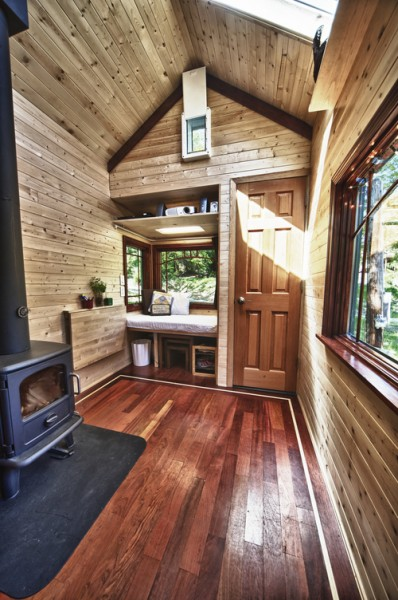Candice's Tiny Tack House: Interior Photos: Modified Tumbleweed Fencl: Photos by Chris Tack (1)