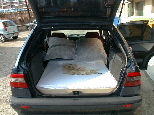 2001 Subaru Outback Custom >> Car Camping