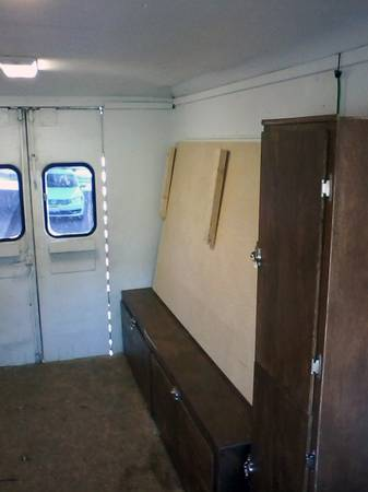 Man Converts Work Van Into Stealth Van Dweller For Sale