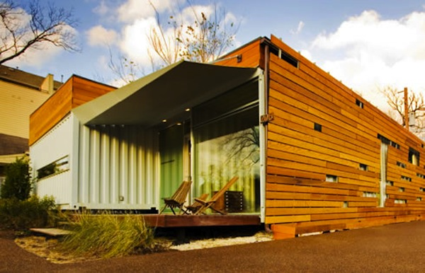 cordell house shipping container home 1   Top 10 Shipping Container Tiny Houses