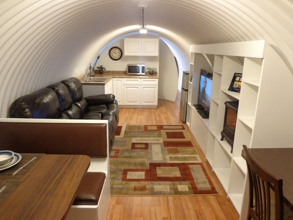 Underground homes atlas survival shelters - The subterranean house fighting small spaces ...