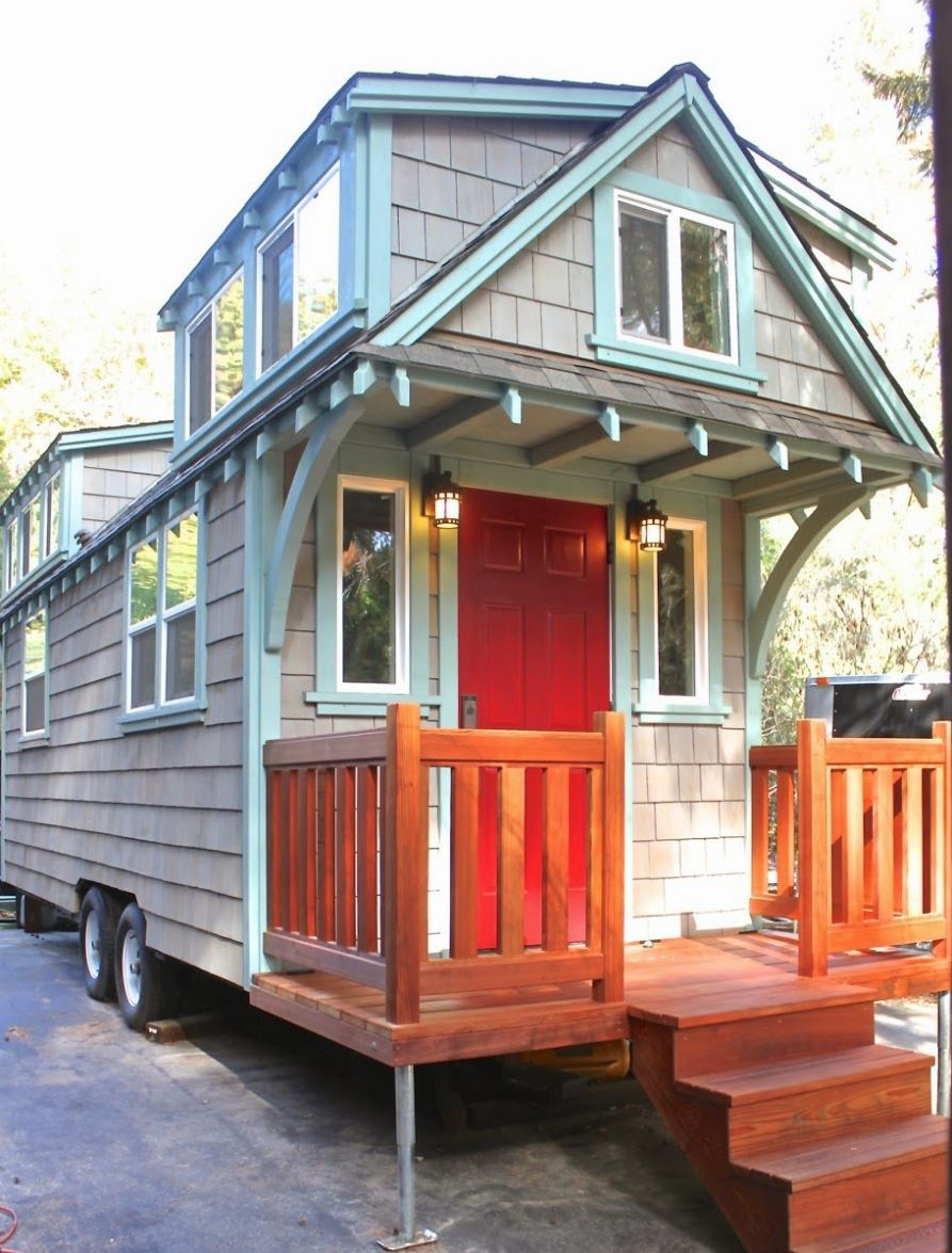 170 sq ft craftsman bungalow molecule tiny home. Black Bedroom Furniture Sets. Home Design Ideas