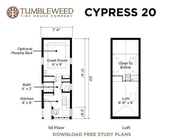 cypress 20 tiny house 21   Cypress 20 Tumbleweed Tiny House