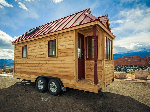 Cypress Tiny House on Wheels by Tumbleweed