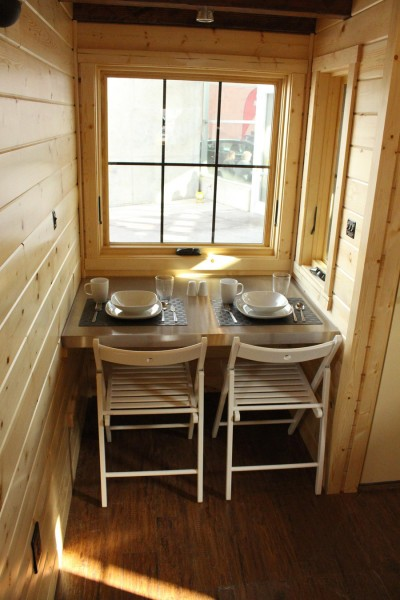 Furniture For Tiny Houses Interiors : ... kitchen below. For a tiny house, I'd say this is a great kitchen