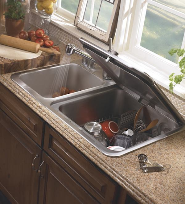 Dishwasher Sink : The KitchenAid ? Briva? FlashDry? in-sink dishwasher that completes ...