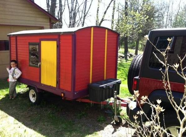 Diy Vardo Camper For Sale Affordable Mobile Micro Cabin