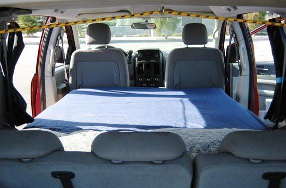 Dodge Minivan Turned To Micro Camper Rv