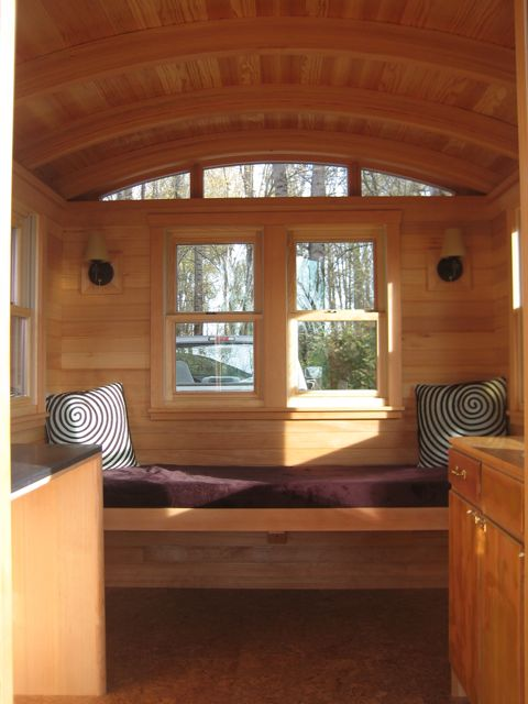 Don Vardo Tiny House Interior