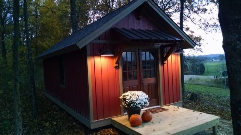 Beautiful 12 39 X 24 39 Tiny Cabin For Sale