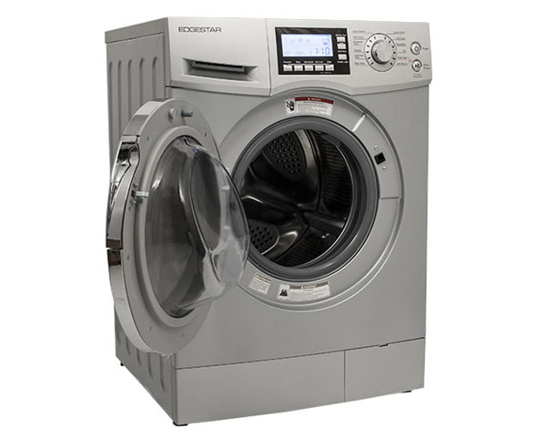 edgestar 2 cu ft cwd1510s fastdry ventless washer dryer combo in silver   Top 5 Washer Dryer Combos for Tiny Houses