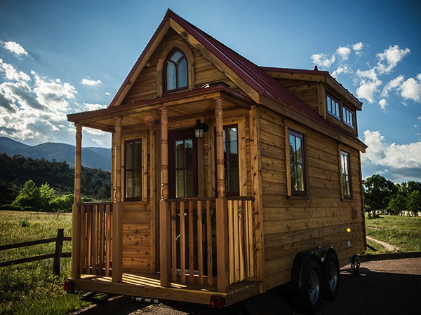 the elm tiny house what your finished tumbleweed house could look like - Tiny House Kits