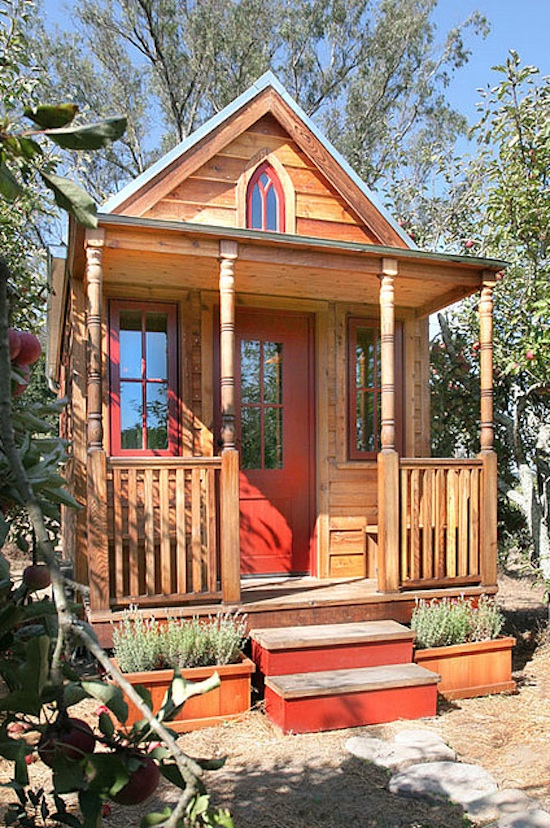 peachy tumbleweeds tiny houses.  Farewell letter from Tiny houses House and Pink