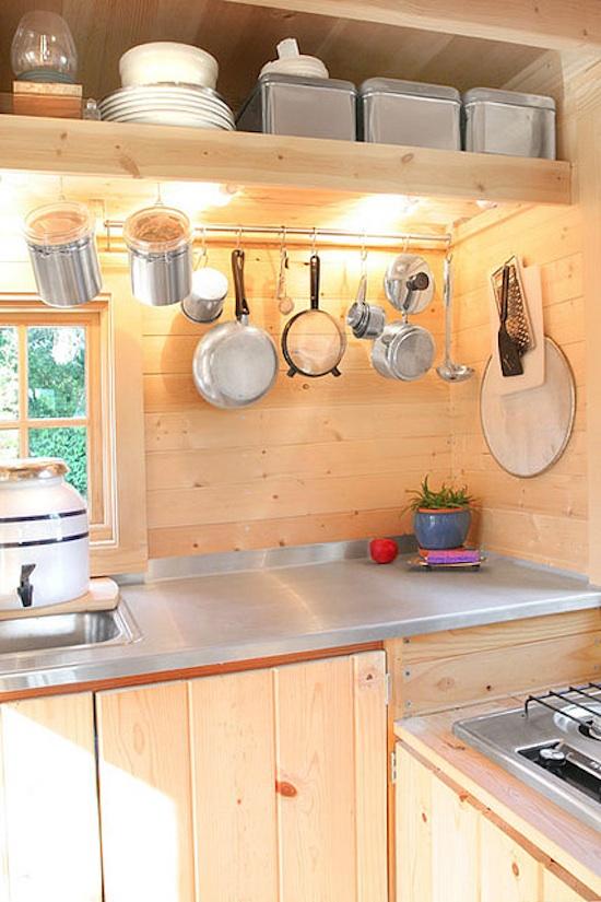 Tiny House Kitchen -- The Epu -- Tumbleweed Houses