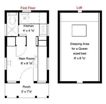 Epu Tiny House Floor Plan