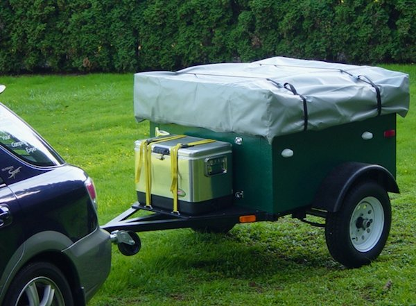 explorer box mobile diy tent camper easy set up 04   DIY Tent Campers You Can Build on a Tiny Trailer
