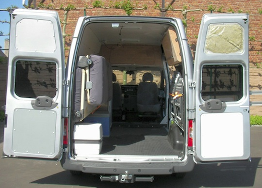 Cargo Van Camper Conversion Plans images