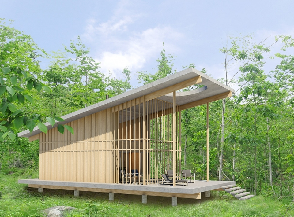 Framework Architectures Tiny Cabin Simple Living With A - living style small house