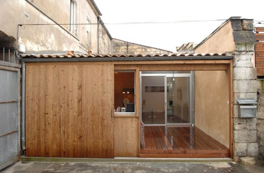 garage converted to modern small house 2   Garage Converted To A Modern Small House