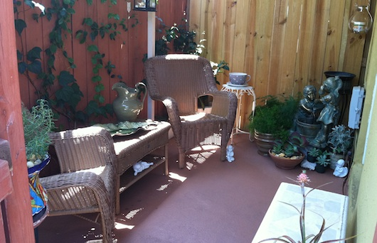 Porch Area - Studio