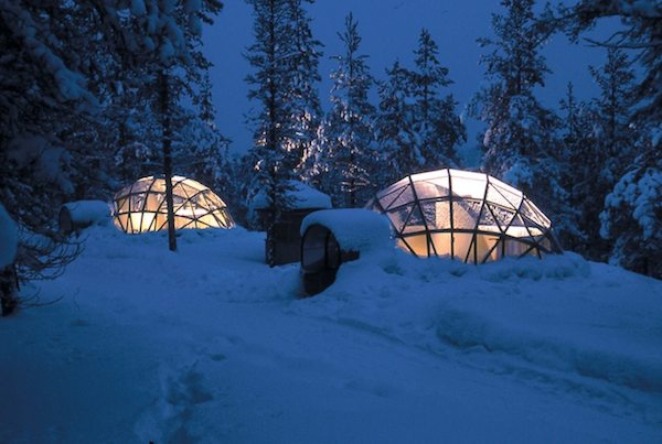 glass igloo tiny house hotel 05   20 Glass Igloo Tiny Houses Make Village for Northern Lights