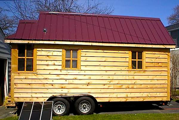 gungy tiny home   Tiny House Living Transitions: Making the Decision to Leave the Tiny Life Behind