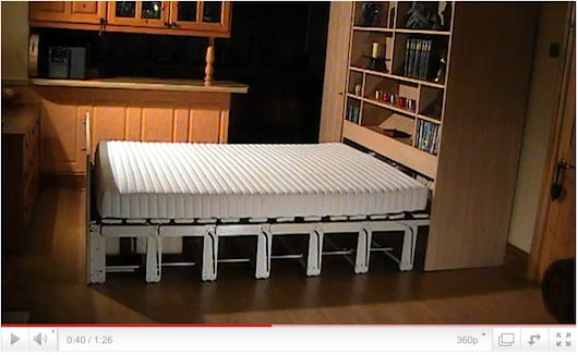 Hideaway Beds Furniture small space furniture - tiny house talk