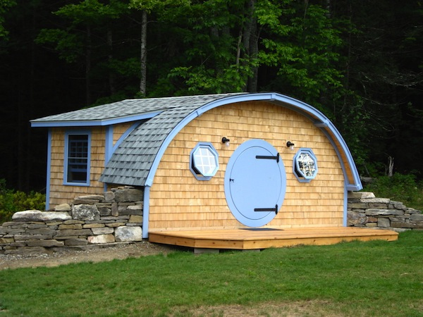 hobbit hole cottage 3   Hobbit Hole Tiny Homes for Your Backyard