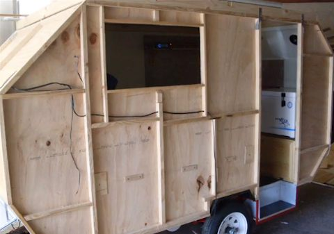 how to build your own camper trailer
