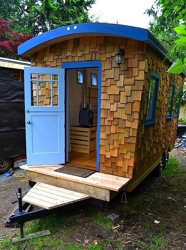 Hornby Island Caravan 39 S Tiny Home Your Next Office Or