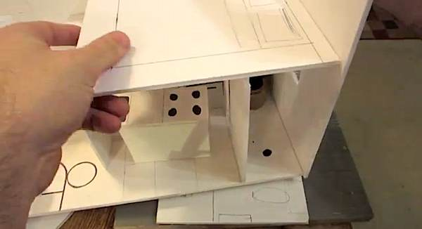 how to build scale 3d tiny house design   How to Design & Build your own Scale Model Tiny House