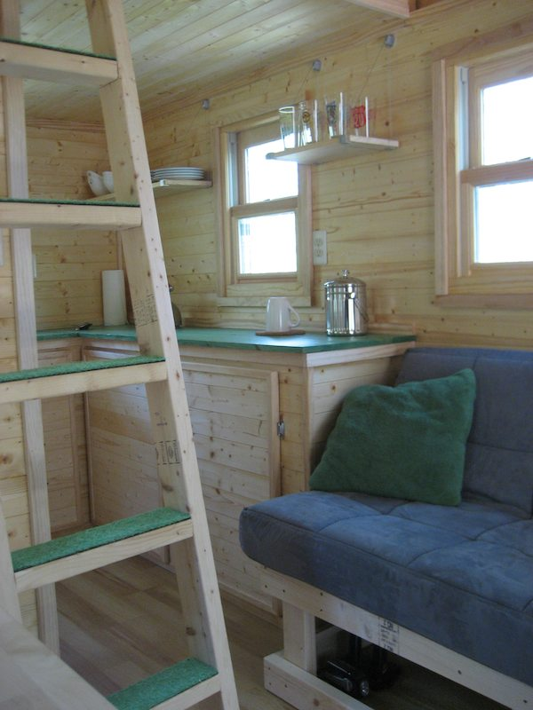 Building and moving into a tumbleweed tiny house by laura lavoie - Tumbleweed tiny house interior ...